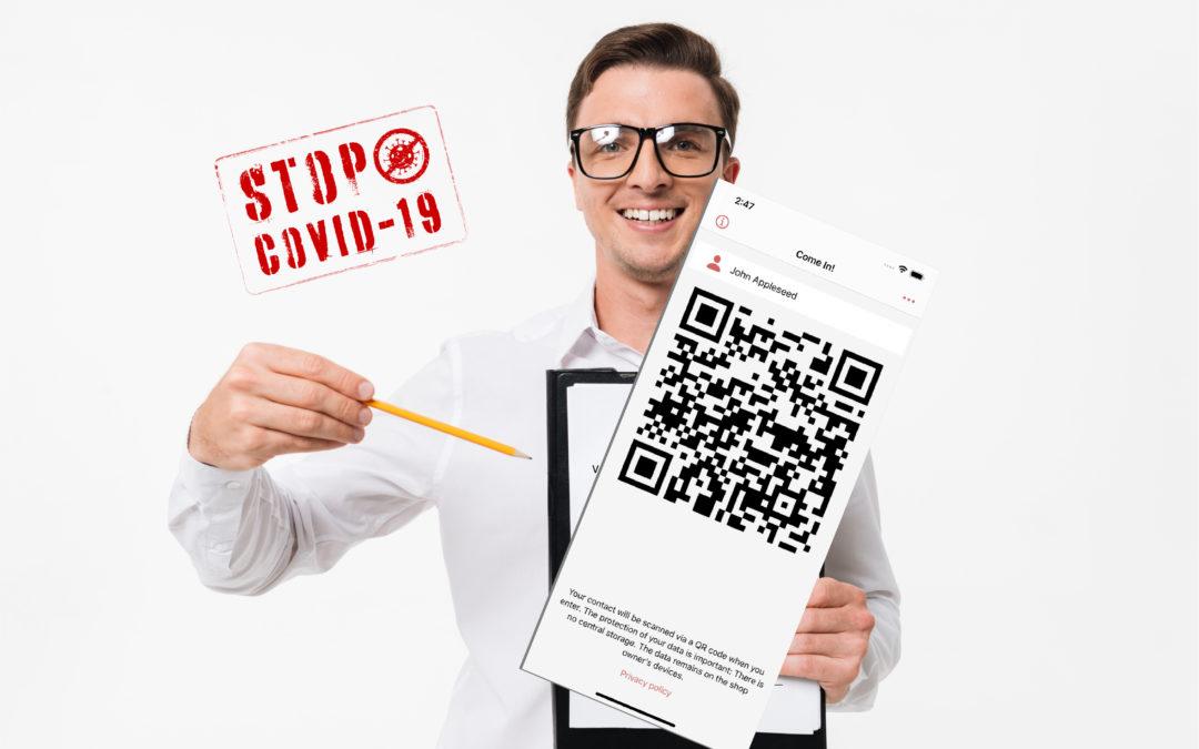 Herein! – der smarte Weg zur Kundenregistrierung gem. Corona-Verordnung